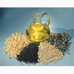 Масла пищевые на экспорт. Подсолнечное масло и др.