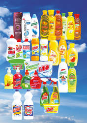 Шампуни,  моющие и чистящие средства,  жидкое мыло,  для мытья стекол